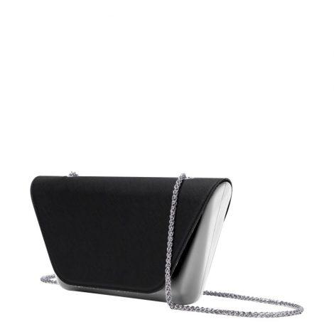 Clutch O Bag Silver con pattina nera 470x470 - Collezione Borse O Bag SHEEN primavera estate 2019