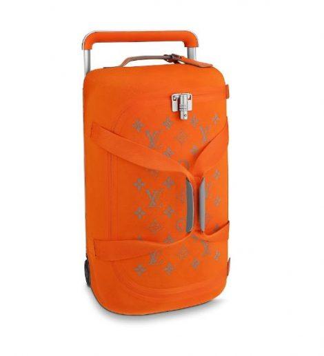 Nuovo borsone viaggio Louis Vuitton 2019 Horizon Soft arancione 470x516 - Nuovo Borsone Trolley Louis Vuitton 2019: Horizon Soft