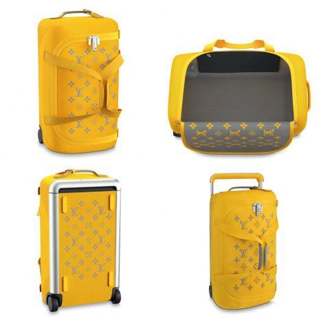 Nuovo borsone viaggio Louis Vuitton 2019 Horizon Soft giallo 470x470 - Nuovo Borsone Trolley Louis Vuitton 2019: Horizon Soft