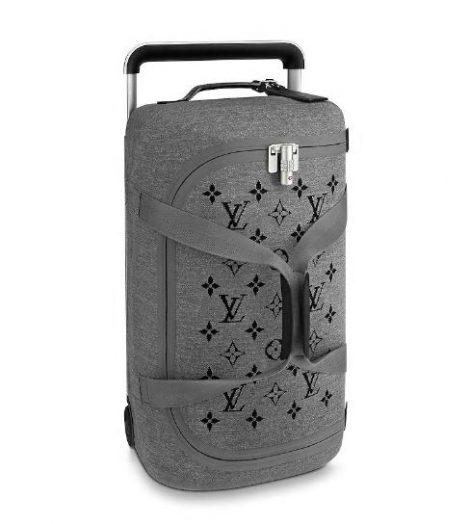 Nuovo borsone viaggio Louis Vuitton 2019 Horizon Soft grigio 470x524 - Nuovo Borsone Trolley Louis Vuitton 2019: Horizon Soft