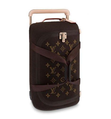Nuovo borsone viaggio Louis Vuitton 2019 Horizon Soft marrone 470x504 - Nuovo Borsone Trolley Louis Vuitton 2019: Horizon Soft