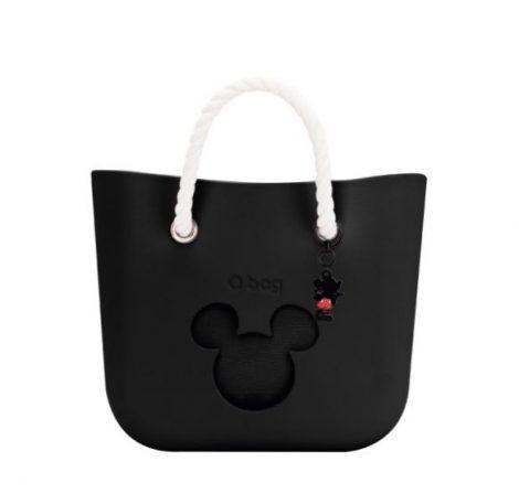Borsa O Bag Mini Nera con Topolino primavera estate 2019 470x448 - Collezione Borse O Bag Disney primavera estate 2019