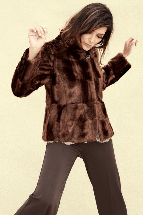 Eco pelliccia corta Coconuda inverno 2020 470x705 - Coconuda Catalogo Abbigliamento Inverno 2019 2020