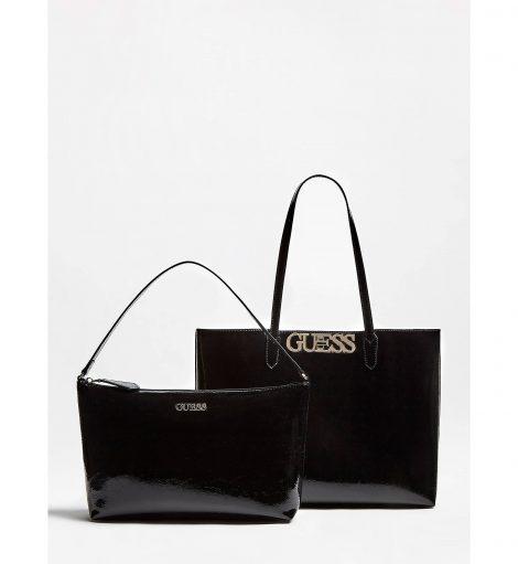 Shopper Guess modello Uptown Chic inverno 2019 2020 colore nero 470x511 - Nuove Borse GUESS inverno 2019 2020