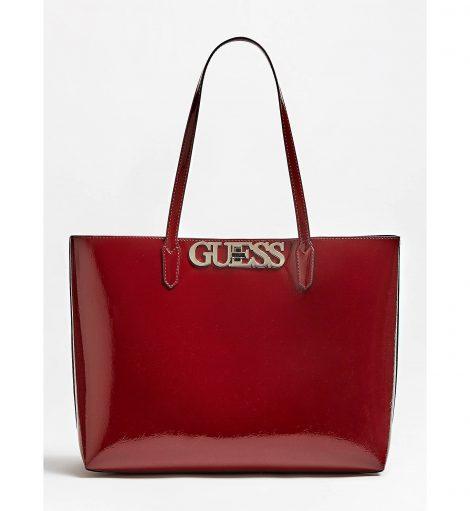 Shopper Guess modello Uptown Chic inverno 2019 2020 colore rosso bordeaux 470x511 - Nuove Borse GUESS inverno 2019 2020