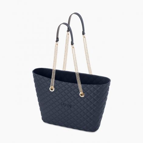 O bag Urban Matelasse colore blu navy collezione autunno inverno 2019 2020 prezzo 76 euro 470x470 - Borsa O Bag Urban Matelasse' inverno 2019 2020: colori e prezzi
