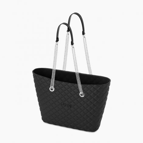 O bag Urban Matelasse colore nera collezione autunno inverno 2019 2020 prezzo 76 euro 470x470 - Borsa O Bag Urban Matelasse' inverno 2019 2020: colori e prezzi