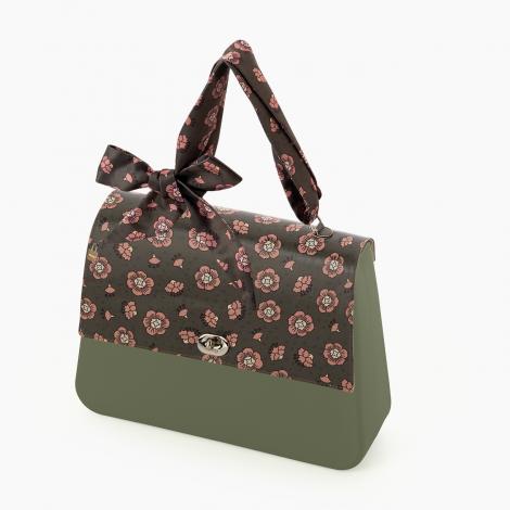 Borsa O bag Queen con manico foulard e pattina stampa floreale collezione inverno 2020 470x470 - Borsa o Bag Queen collezione inverno 2019 2020