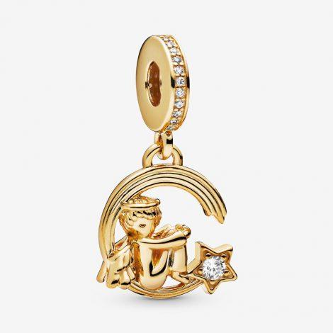 Charm Pandora in oro angelo con stella cadente 470x470 - Nuovi Charms Angeli Custodi Pandora Inverno 2019 2020
