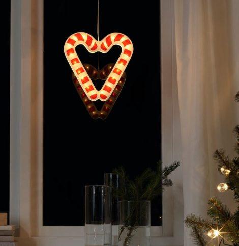 Lampada Natalizia a LED da appendere IKEA 470x483 - Catalogo IKEA Natale 2019