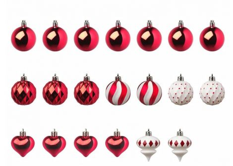 Set di 20 Palline da addobbare Albero di Natale 2019 IKEA 470x336 - Catalogo IKEA Natale 2019