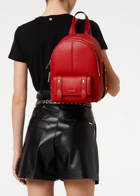 Nuovo zainetto Liu Jo rosso ciliegia collezione primavera estate 2020 470x655 - Liu Jo Zaini Primavera Estate 2020