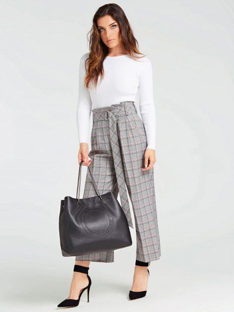 Shopper in pelle nera Guess modello Lilly collezione primavera estate 2020 1 470x627 - Borse Guess in pelle primavera estate 2020