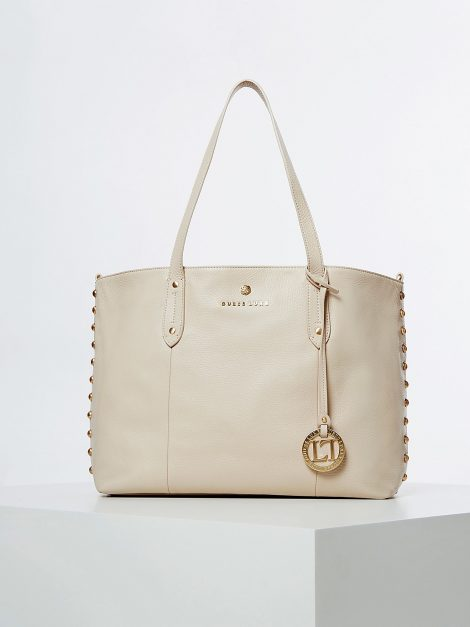 Shopper in vera pelle Guess modello Eve Luxe 470x627 - Borse Guess in pelle primavera estate 2020