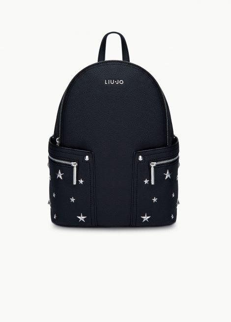 Zaino nero Liu Jo con stelle decorative 470x655 - Liu Jo Zaini Primavera Estate 2020