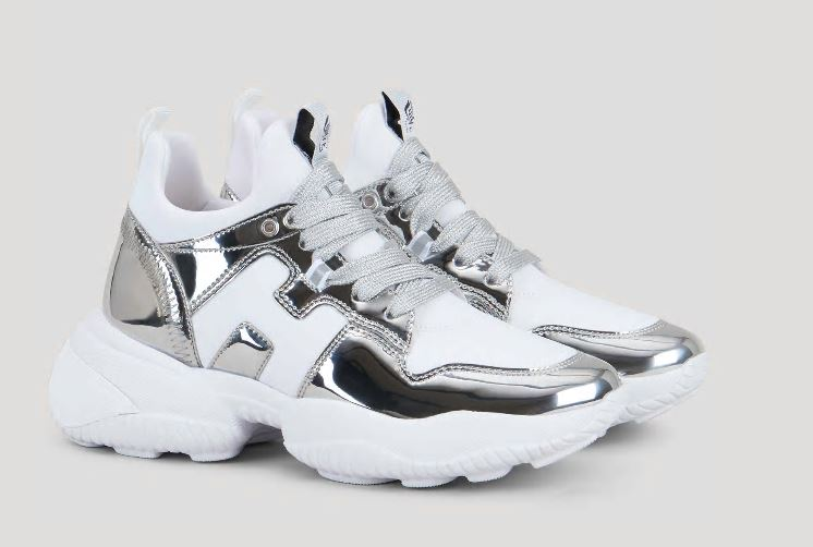 Hogan donna nuove sneakers Interaction laminate argento estate 2020 - Nuove Sneakers HOGAN Donna Primavera Estate 2020 Hogan donna nuove sneakers Interaction laminate argento estate 2020 - Nuove Sneakers HOGAN Donna Primavera Estate 2020