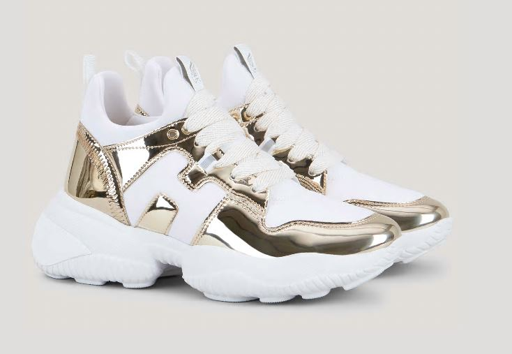 Nuove sneakers Hogan Donna Interacrtion Laminate Dorate estate 2020 - Nuove Sneakers HOGAN Donna Primavera Estate 2020 Nuove sneakers Hogan Donna Interacrtion Laminate Dorate estate 2020 - Nuove Sneakers HOGAN Donna Primavera Estate 2020