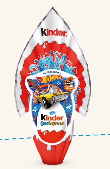 Kinder Uovo di Pasqua Gransorpresa 2020 Hot Wheels - Uova di Pasqua Kinder 2020 Kinder Uovo di Pasqua Gransorpresa 2020 Hot Wheels - Uova di Pasqua Kinder 2020